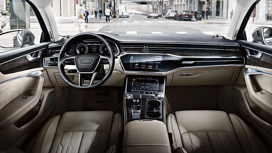 Interior Features of the New Audi A6 at Garber in Rochester, NY