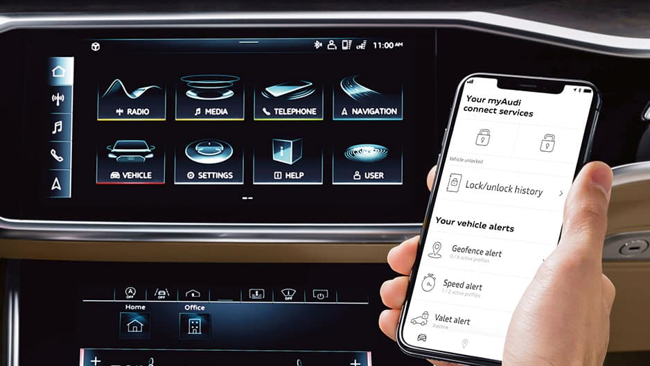 Technology Features of the New Audi A6 at Garber in Rochester, NY