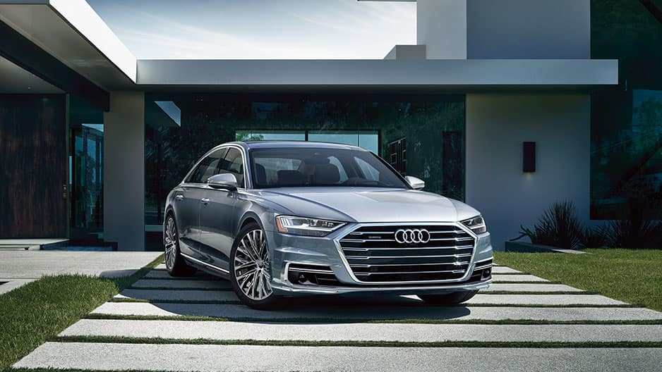 Exterior Features of the New Audi A8 at Garber in Rochester, NY