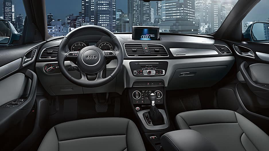 Interior Features of the New Audi Q3 at Garber in Rochester, NY