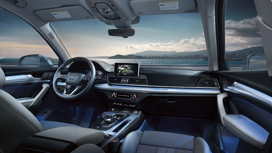 Interior Features of the New Audi Q5 at Garber in Rochester, NY
