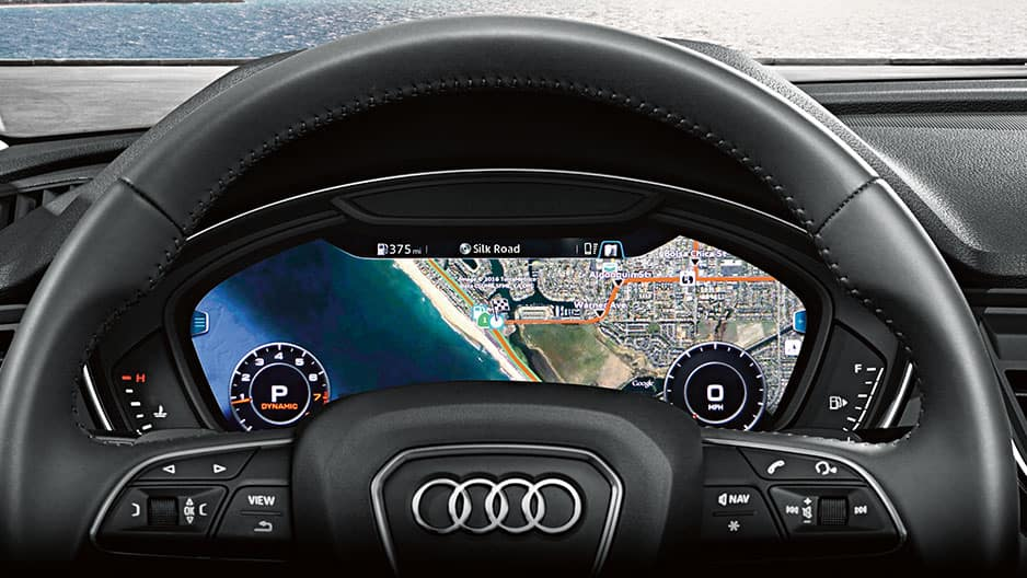 Safety Features of the New Audi Q5 at Garber in Webster, NY
