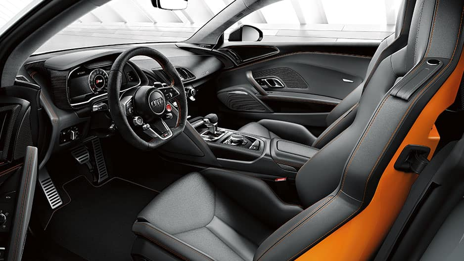 Interior Features of the New Audi R8 at Garber in Rochester, NY