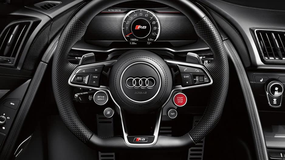 Technology Features of the New Audi R8 at Garber in Webster, NY