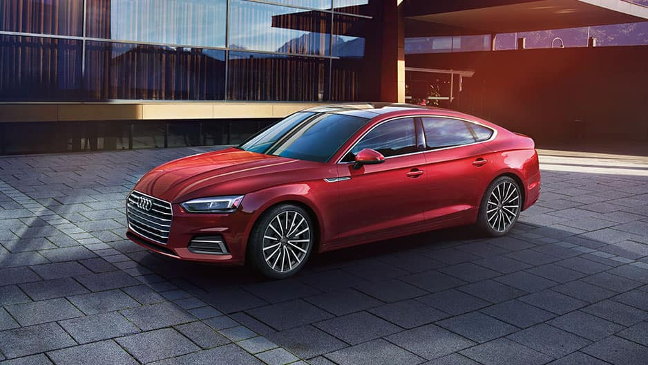 Exterior Features of the New Audi A5 at Garber in Rochester, NY