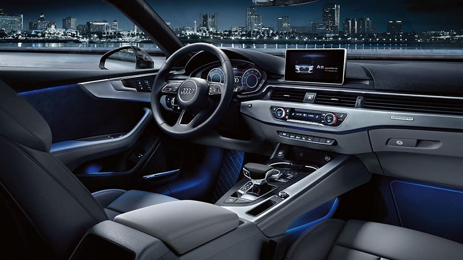 Interior Features of the New Audi A5 at Garber in Rochester, NY