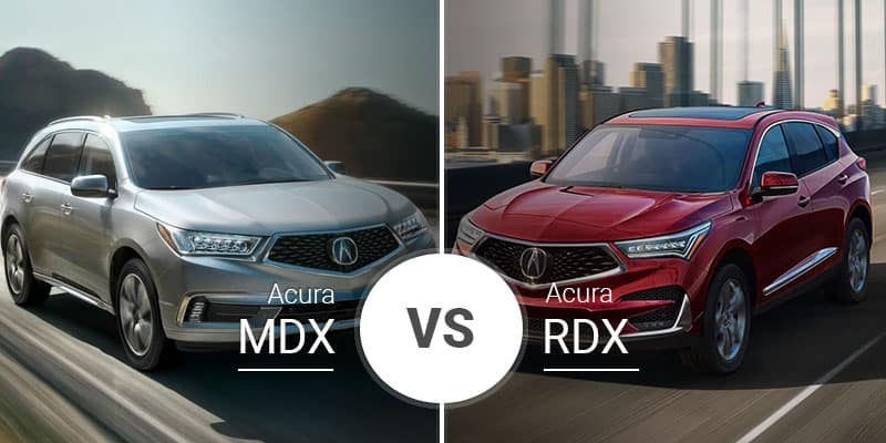 Acura Rdx Vs Mdx >> Acura Mdx Vs Acura Rdx Crossover Brothers Do Battle