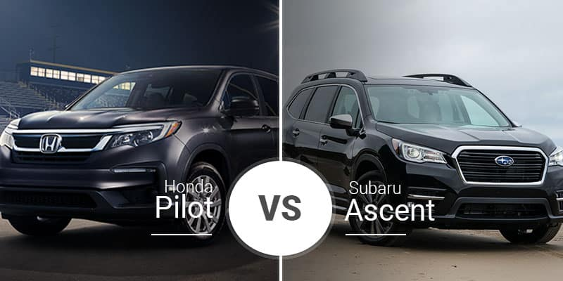 Honda Pilot Vs  Subaru Ascent | Garber Rochester