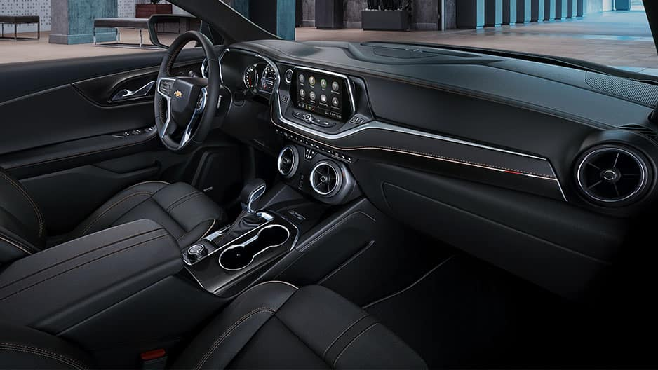 Interior Features of the New Chevrolet Blazer at Garber in Linwood, MI