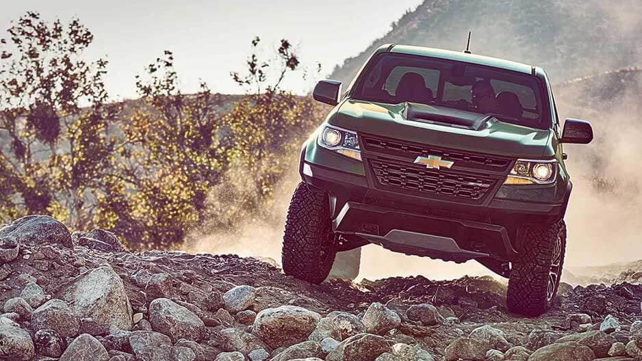 Performance Features of the New Chevrolet Colorado at Garber in Linwood, MI