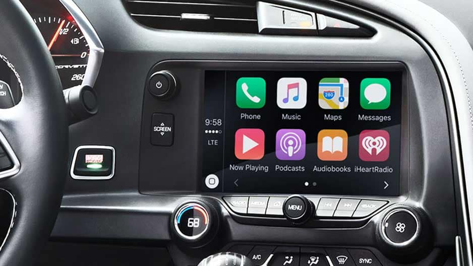 Technology Features of the New Chevrolet Corvette at Garber in Linwood, MI