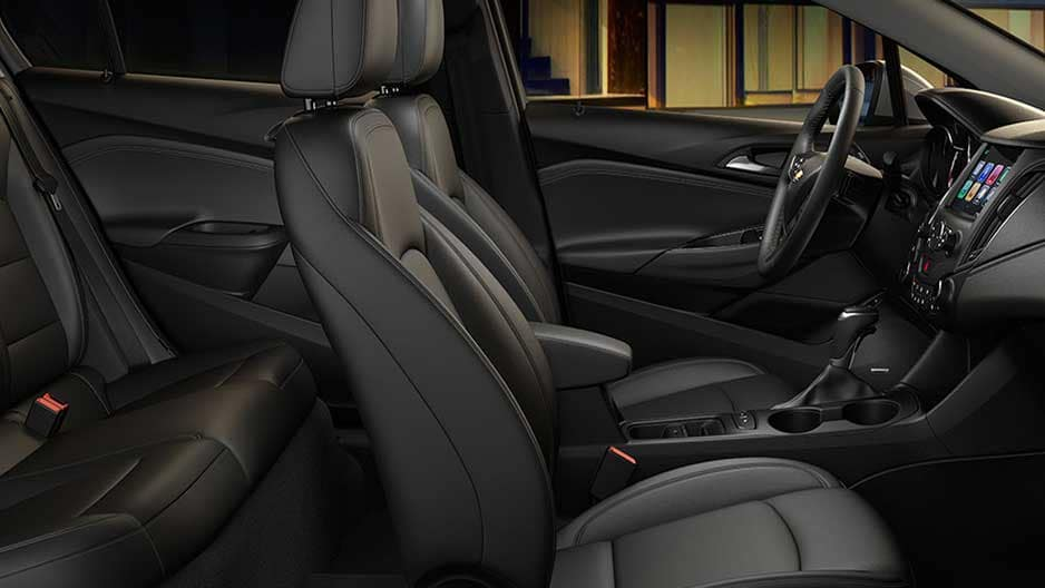 Interior Features of the New Chevrolet Cruze at Garber in Linwood, MI