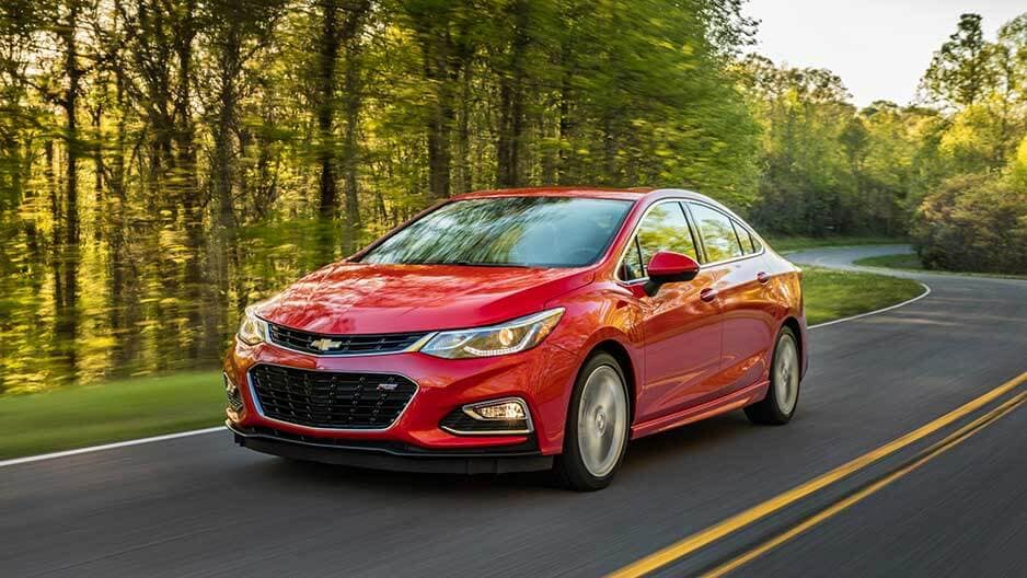 Performance Features of the New Chevrolet Cruze at Garber in Linwood, MI