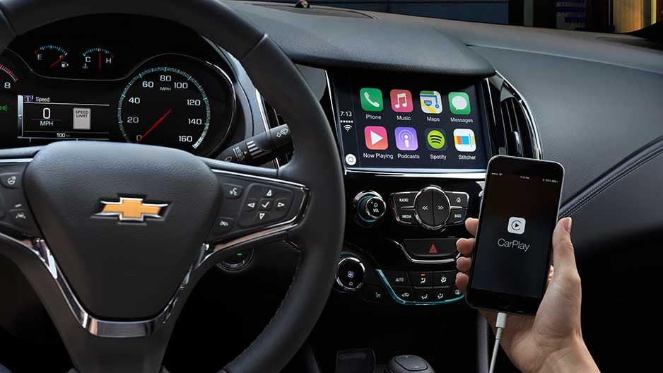 Technology Features of the New Chevrolet Cruze at Garber in Linwood, MI