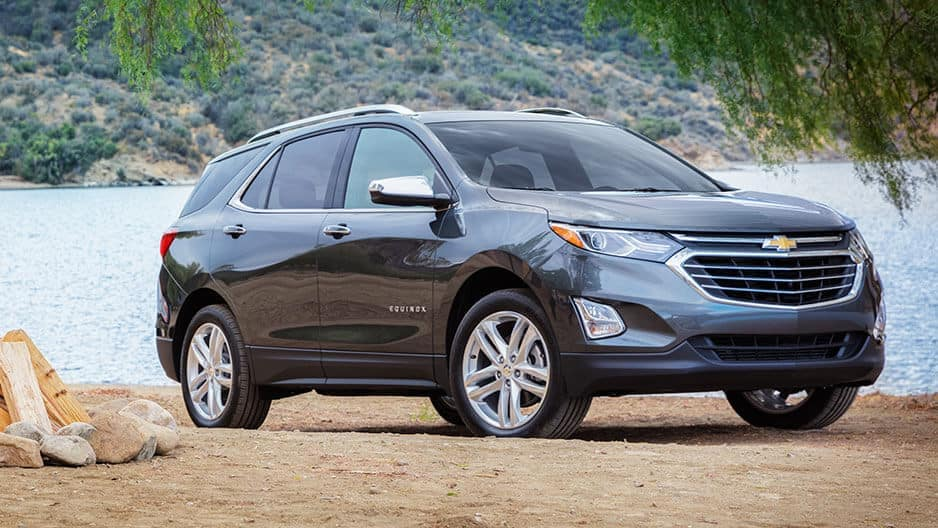 Exterior Features of the New Chevrolet Equinox at Garber in Linwood, MI