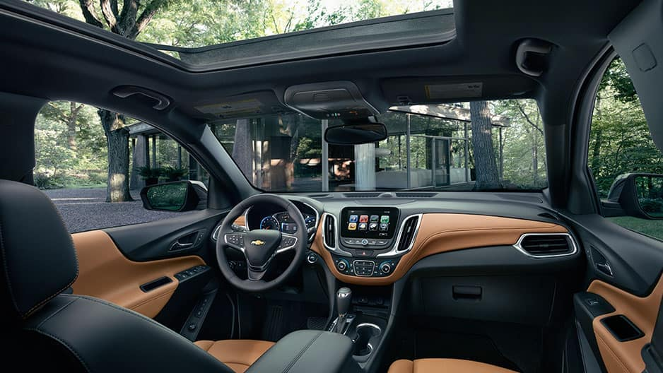 Interior Features of the New Chevrolet Equinox at Garber in Linwood, MI