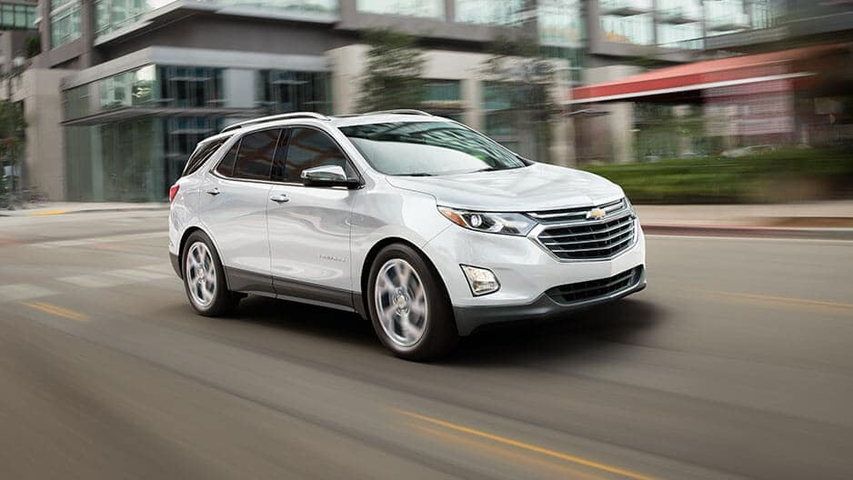 Performance Features of the New Chevrolet Equinox at Garber in Linwood, MI