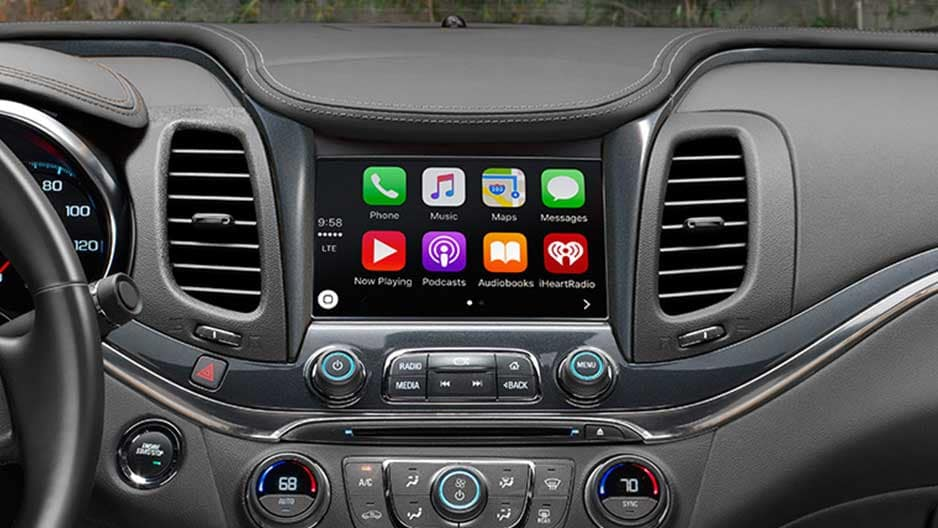 Technology Features of the New Chevrolet Impala at Garber in Linwood, MI