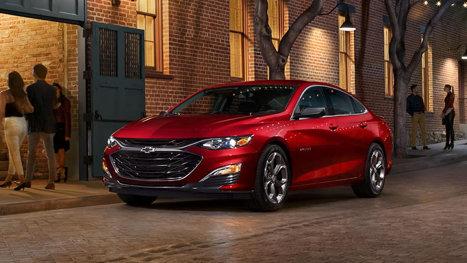 Exterior Features of the New Chevrolet Malibu at Garber in Linwood, MI