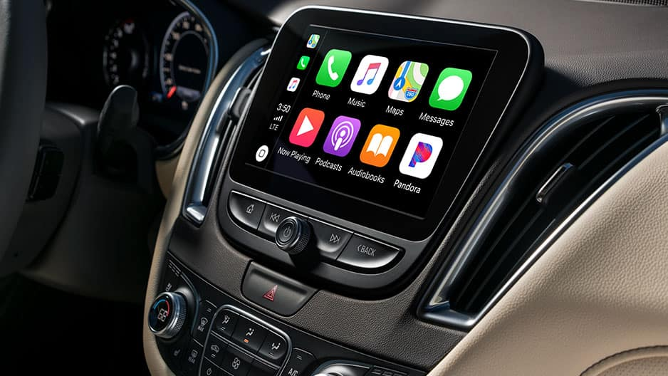 Technology Features of the New Chevrolet Malibu at Garber in Linwood, MI