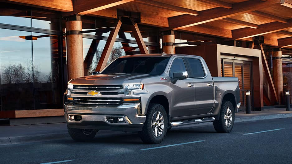 Exterior Features of the New Chevrolet Silverado at Garber in Linwood, MI