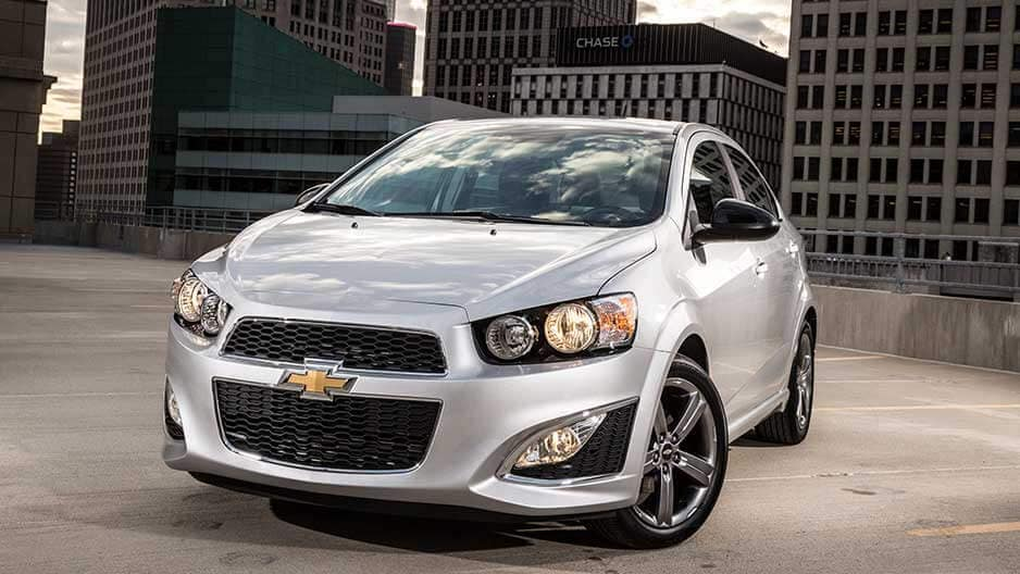 Exterior Features of the New Chevrolet Sonic at Garber in Linwood, MI