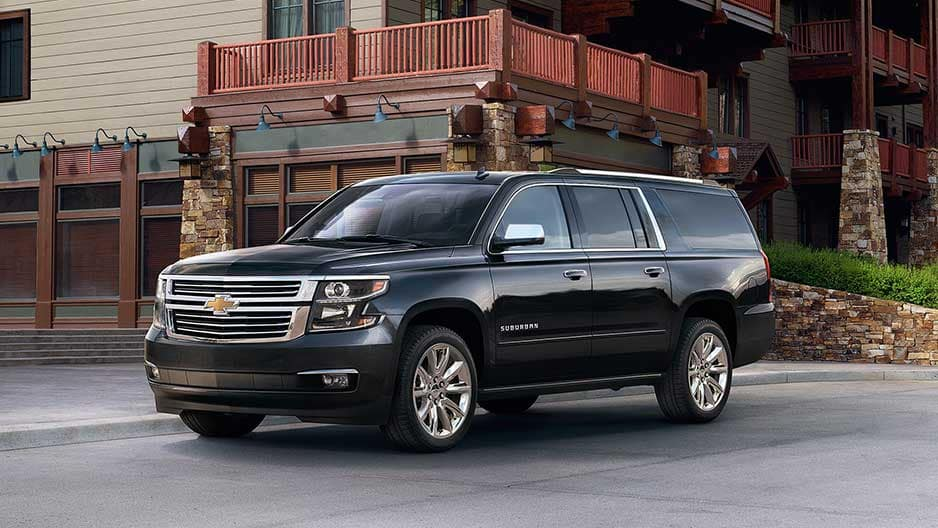 Exterior Features of the New Chevrolet Suburban at Garber in Linwood, MI