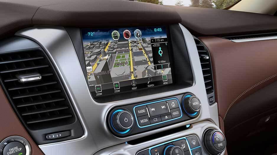 Technology Features of the New Chevrolet Suburban at Garber in Linwood, MI