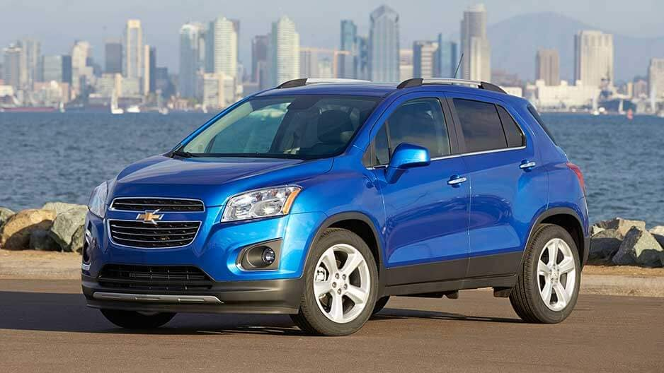 Exterior Features of the New Chevrolet Trax at Garber in Linwood, MI