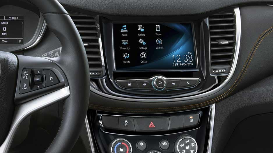 Technology Features of the New Chevrolet Trax at Garber in Linwood, MI