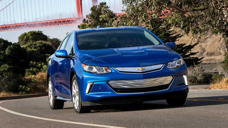 Exterior Features of the New Chevrolet Volt at Garber in Linwood, MI