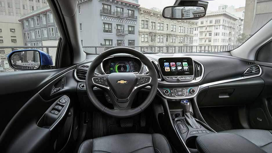 Interior Features of the New Chevrolet Volt at Garber in Linwood, MI