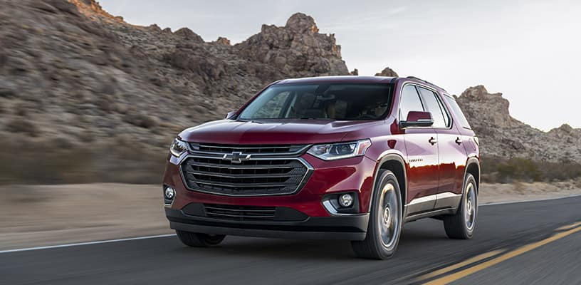 The All New  Chevrolet Traverse Rs Offers Turbocharged Performance And Aggressive Exterior For Those Who Want A Sportier Suv Thats Fun To Drive