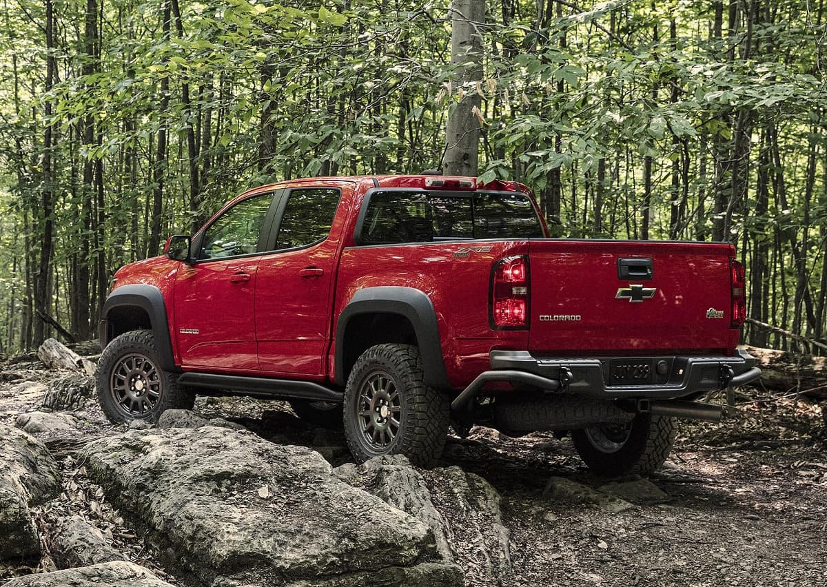 2019 Chevy Colorado ZR2 Bison