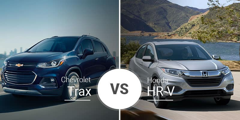 Chevy Trax Vs Honda Hr V Small Crossovers With Big Abilities