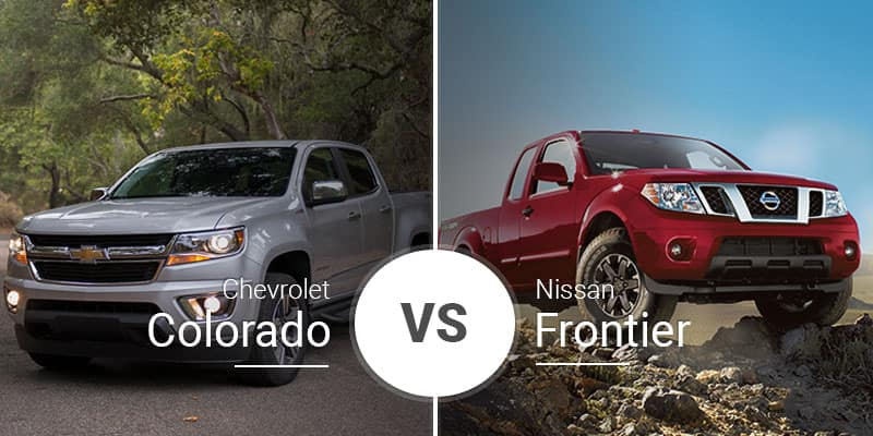 Chevy Colorado Vs. Nissan Frontier: New Battles Old in ... on