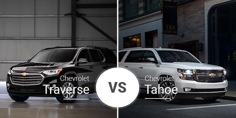 Chevy Traverse Vs. Chevy Tahoe: Beastly SUV or Nimble ...