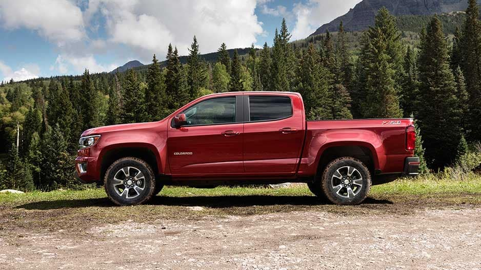 Exterior Features of the New Chevrolet Colorado at Garber in Linwood, MI