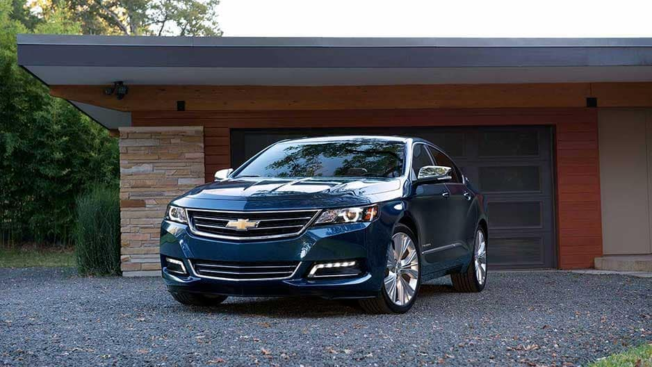 Exterior Features of the New Chevrolet Impala at Garber in Linwood, MI