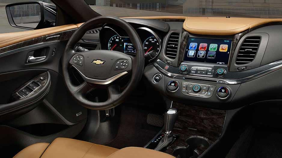 Interior Features of the New Chevrolet Impala at Garber in Linwood, MI