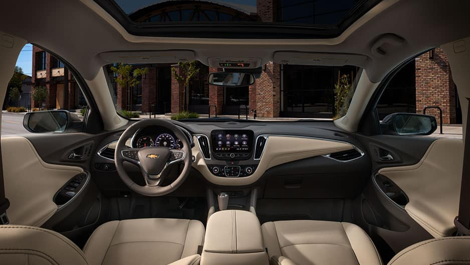Interior Features of the New Chevrolet Malibu at Garber in Linwood, MI