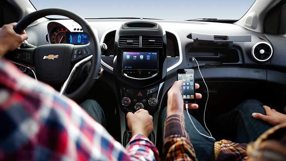 Technology Features of the New Chevrolet Sonic at Garber in Linwood, MI