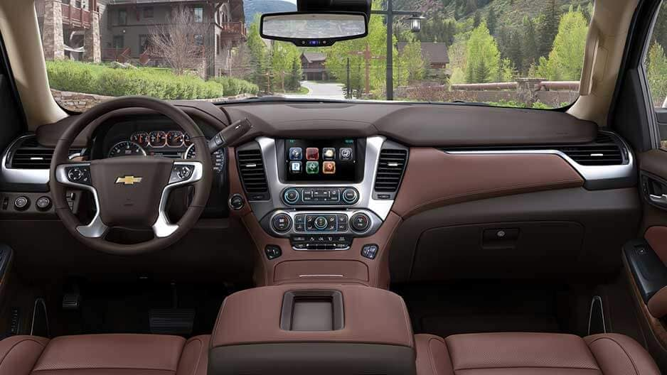 Interior Features of the New Chevrolet Suburban at Garber in Linwood, MI
