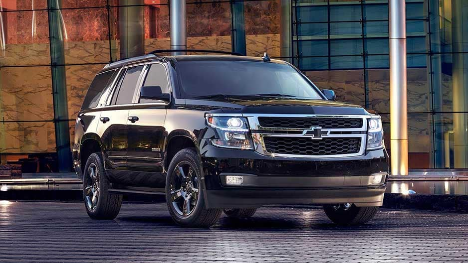 Exterior Features of the New Chevrolet Tahoe at Garber in Linwood, MI
