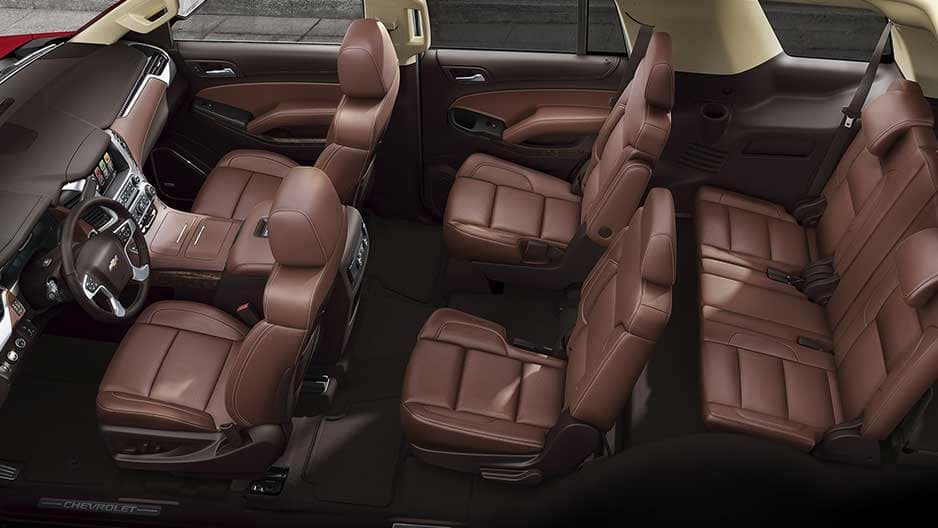 Interior Features of the New Chevrolet Tahoe at Garber in Linwood, MI