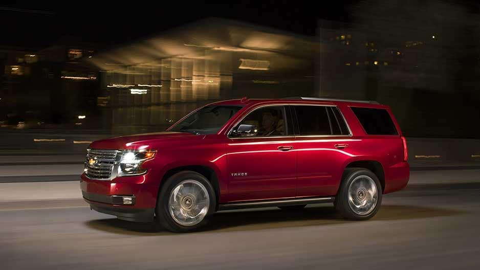Performance Features of the New Chevrolet Tahoe at Garber in Linwood, MI