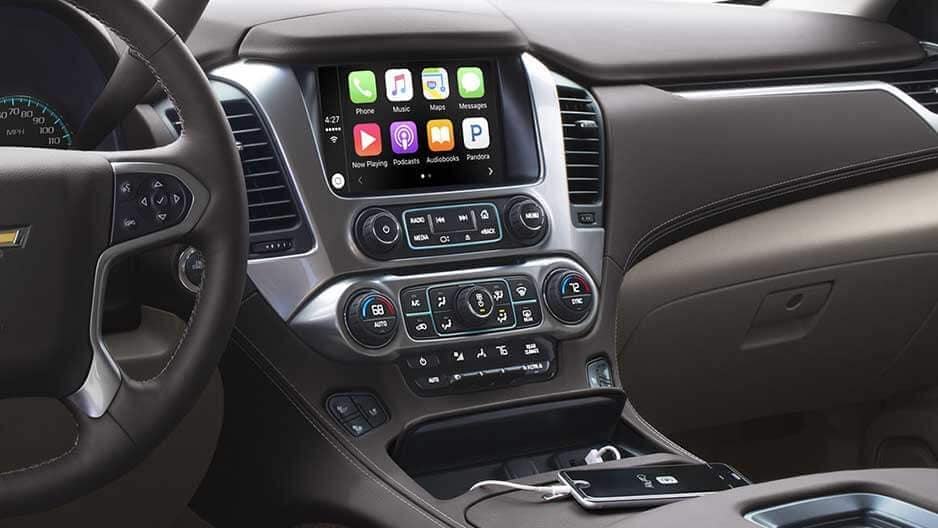 Technology Features of the New Chevrolet Tahoe at Garber in Linwood, MI
