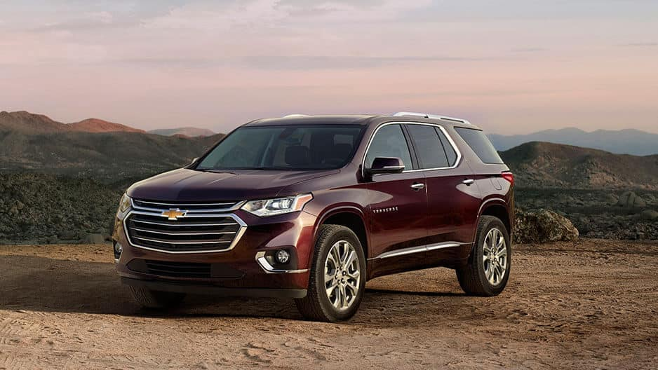 Exterior Features of the New Chevrolet Traverse at Garber in Linwood, MI