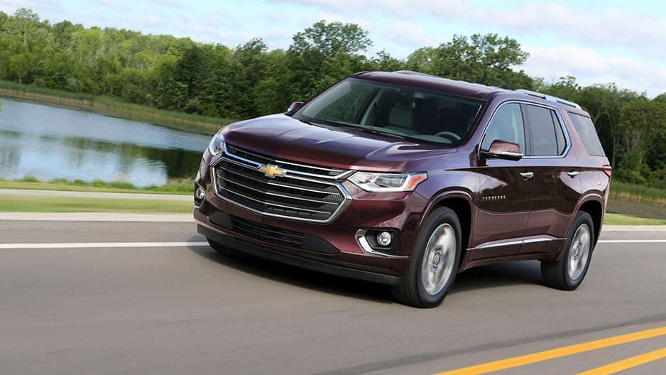 Performance Features of the New Chevrolet Traverse at Garber in Linwood, MI