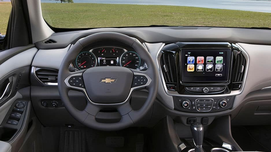 Technology Features of the New Chevrolet Traverse at Garber in Linwood, MI